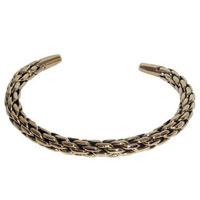 10006 - Bronsarmband Stelt Vikinga armband.