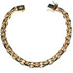 01-FD180 - Guldarmband 18k Ankarkedja