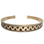 10005 - Bronsarmband Stelt Vikinga armband.