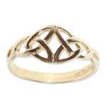 109 - Guldring 18k Keltisk ring
