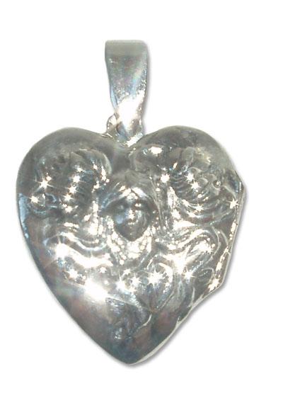 2108  -  Silverhänge Modern  Hjärta.