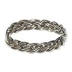 4030 - Silverring Flätad Keltisk ring