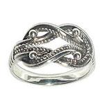 4040 - Silverring Tälgekvinnans ring
