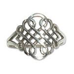 4129 - Silverring Keltisk