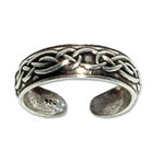 4143 - Tåring av silver med Keltiskt motiv