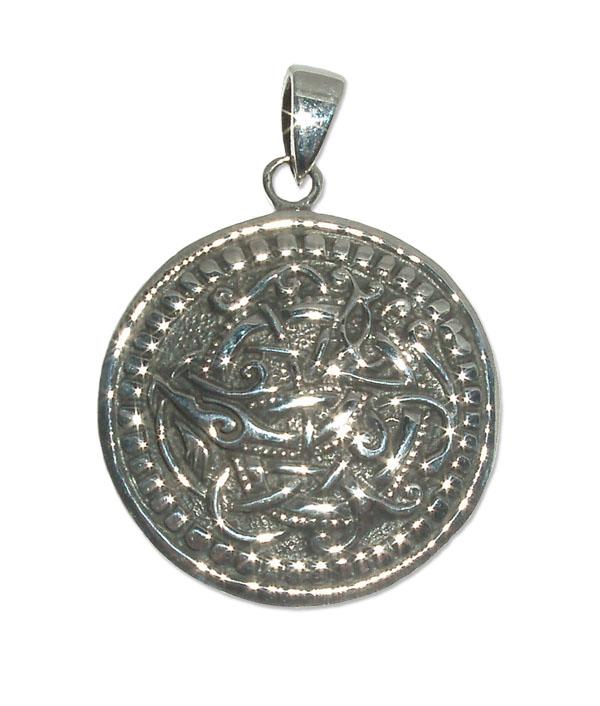 2471-Silvehänge Keltisk drake.