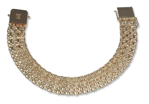 3-2 – Guldarmband  18k
