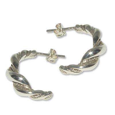 3028  -  Silverörhänge Vikinga.