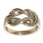 9008 - Bronsring Tälgekvinnans ring