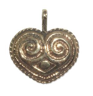 7009-Bronshänge Keltiskt Hjärta.