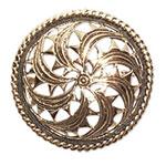 13018 - Bronsbrosch Solhjulet från Sandastenen