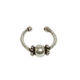 3129 - Silver öron kuff  kupad.