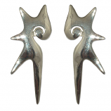 3164 -  Silverörhängen Mode.