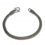 5154 – Silver Snyggt Oxiderad armband